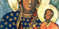 coloring Black Madonna of Czetokowa